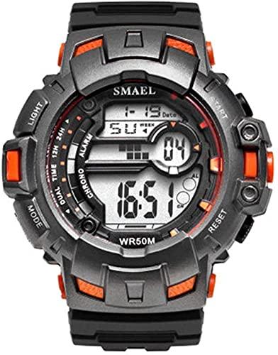 NLRHH Reloj de Pulsera Digital de Relojes de Hombre al Aire Libre NLRHH Peng (Color: a) -e