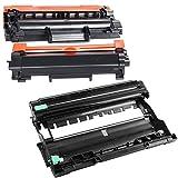 Pure-Color Unidad de Tambor DR2400 DR-2400 de Repuesto y Cartucho de tóner Negro TN2420 para...