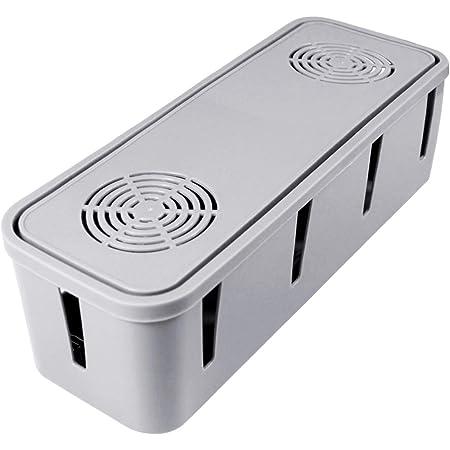 Dokpav Kabelbox Groß Kabelmanagement Box Für Elektronik