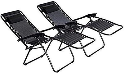 Fabulous Amazon Com Belleze Xl Oversized Zero Gravity Chairs Case Short Links Chair Design For Home Short Linksinfo