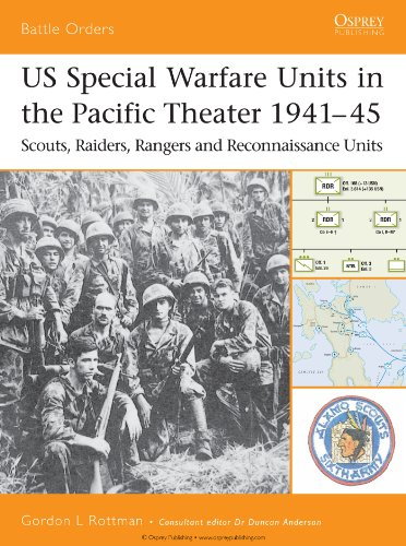 US Special Warfare Units in the Pacific Theater 1941–45: Scouts, Raiders, Rangers and Reconnaissance Units (Battle Orders Book 12) (English Edition)