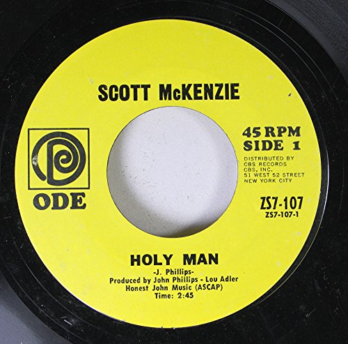 Scott McKenzie 45 RPM Holy Man / What\'s the Difference (Chapter Three)