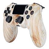 Mando para PS4, Mando Inalámbrico, Mando Compatible con PS 4 Controller con Doble vibración Touchpad 3.5mm Jack de Audio para PC PS4