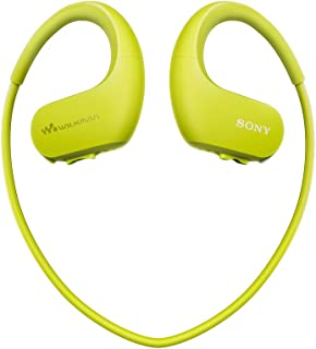 Sony 索尼 NW-WS414 可穿戴式运动防水音乐播放器 柠檬绿 8G