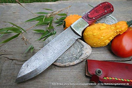 Couteau Damassé akakuda Couteau de cuisine quotidien Couteau Rose Damassé