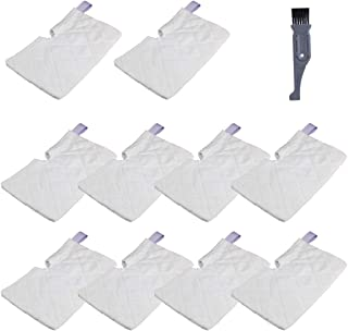I clean Replacement Steam Mops for Shark S3501 S3601 S3550 S3901 S3801, 10 Packs Washable Microfiber Cleaning Pocket Pads