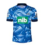 YHANS Maillot De Rugby Blues Home Hommes Rugby Jersey D'entraînement Respirant Textile Polo Shirt Summer Sports Loisirs T-Shirts(S-5XL),5XL