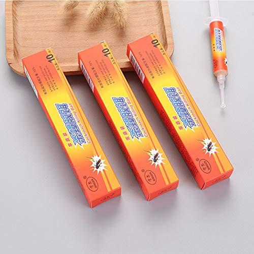 Cebo de gel de control de cucarachas Fipronil insecticida seguro eficiente para hoteles cocina hogar J2Y