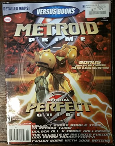 Versus Books Metroid Prime Official Perfect Guide