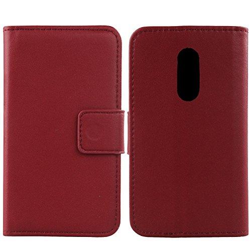 Gukas Design Echt Leder Tasche Für TP-LINK Neffos X1 MAX 5.5