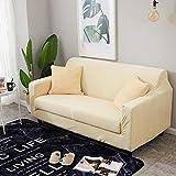 QWEASDZX Funda De Sofá Funda De Sofá Estampada De Moda En Poliéster Suave con Funda De Sofá con Fondo Elástico Funda Universal para Muebles 2 Seater(140-185cm