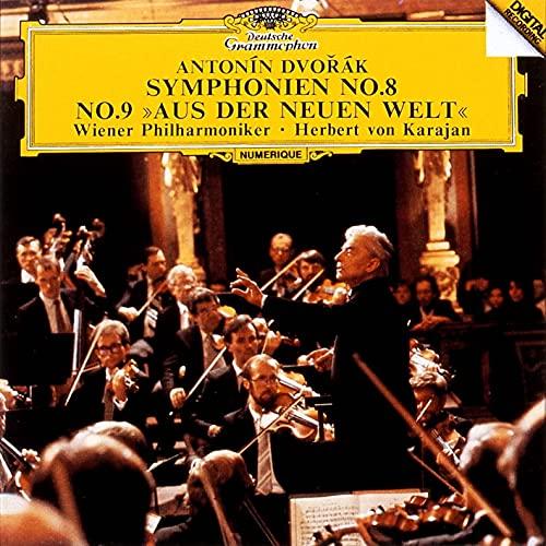 【Amazon.co.jp限定】ドヴォルザーク: 交響曲第8番・第9番《新世界より》 (SHM-CD)(特典:クラシックロゴ入り ストーンペーパーコースター1枚)