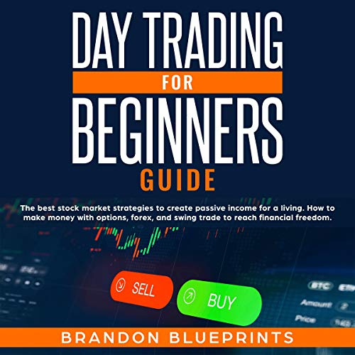 Day Trading for Beginners Guide cover art
