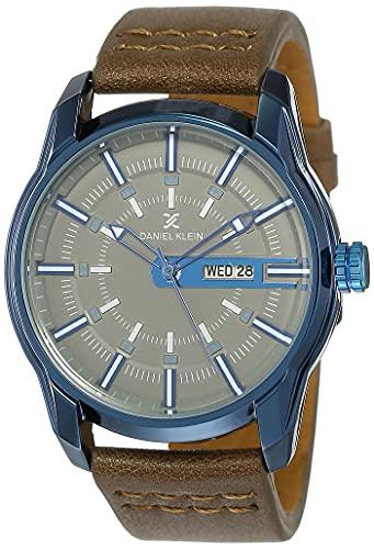 Daniel Klein Analog Grey Dial Men's Watch - DK11599-6