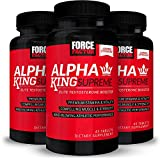 Alpha King Supreme Testosterone Booster for Men with Fenugreek Seed and...