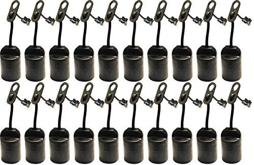 20 STÜCK Baufassung Renovierfassung Lampenfassung Lampe Leuchte Renovierbirne Deckenlampe