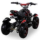 Miniquad Kinder Cobra ATV  rot / schwarz - 2