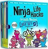 Ninja Life Hacks Growth Mindset 8 Book Box...