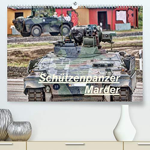 Schützenpanzer Marder (Premium, hochwertiger DIN A2 Wandkalender 2021, Kunstdruck in Hochglanz)