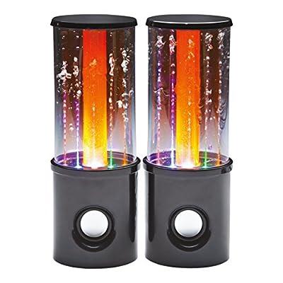 Global Gizmos Benross 54610 Pair USB Powered Dancing Water Tower Speaker from Benross