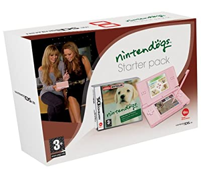 Nintendo DS Lite Pink Console with Nintendogs (Nintendo DS)