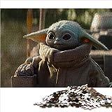 Visionpz Puzzle de 1000 Piezas para Adultos y Adolescentes Guerra de Las Galaxias Juegos de Rompecabezas de Temas Bebé Yoda Rompecabezas Juegos Familiares a Gran Escala Regalos 75x50cm