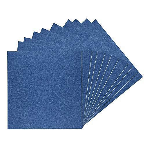 AptoFun 10pz carta da stampa 3D di alta qualità (210 mm x 200 mm) per stampante 3D letto riscaldante/letto di stampa in blu (10pz)