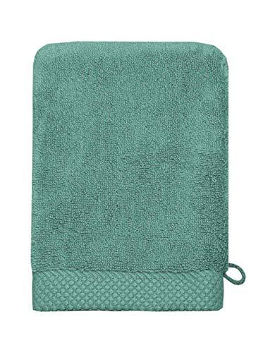 Sensei La Maison du Coton Gant De Toilette Sensoft - Couleur - Aqua Sea, Taille - 16x21