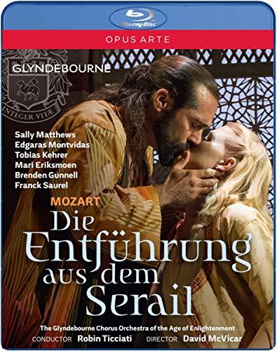 Mozart: Die Entführung aus dem Serail (Glyndebourne Festival, 2015) [Blu-ray]