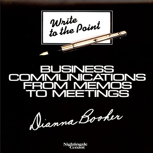 Write to Point Audiobook By Dianna Booher cover art