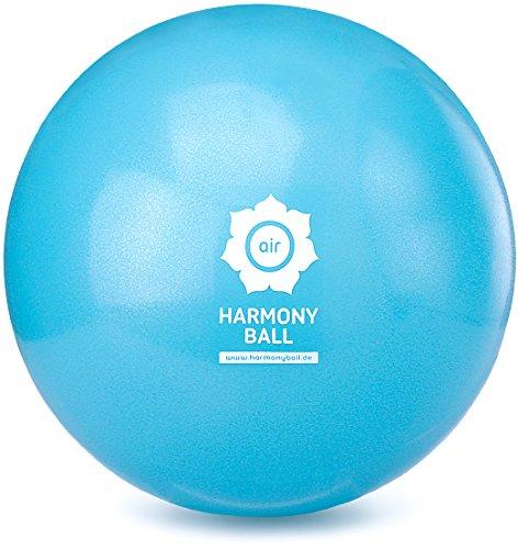 HARMONY BALL® air Pilatesball & Gymnastikball ohne Phthalate | Verschiedene Größen | aquablau (Aquablau, 18 cm)