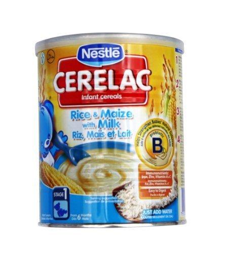 Nestle Cerelac Rijst en Maïs met Melk 400g (Europa) Nieuw!