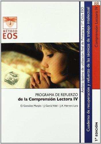 Comprensión lectora IV: 88 (Método EOS)