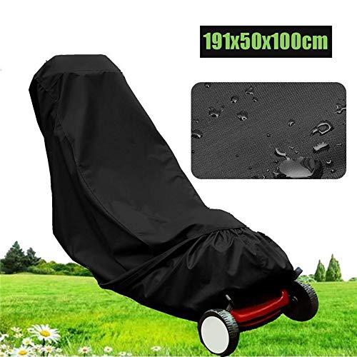 PROMISE2301 Outdoor handmatige grasmaaier stofkap gazon maaier Cover zwart