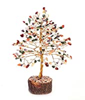 Feng Shui Gemstone Crystal Bonsai Fortune Money Tree Material Type - crystal Colour - Multicolour
