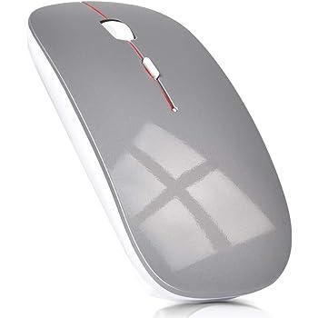 ワイヤレスマウス 超薄型 静音 無線 マウス 省エネルギー 2.4GHz 3DPIモード 高精度 持ち運び便利 Mac/Windows/surface/Microsoft Proに対応
