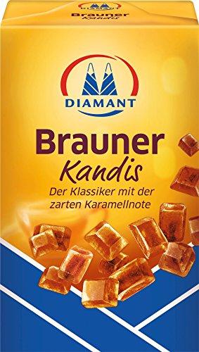 Diamant Kandiszucker braun, 1er Pack (1x 500g)