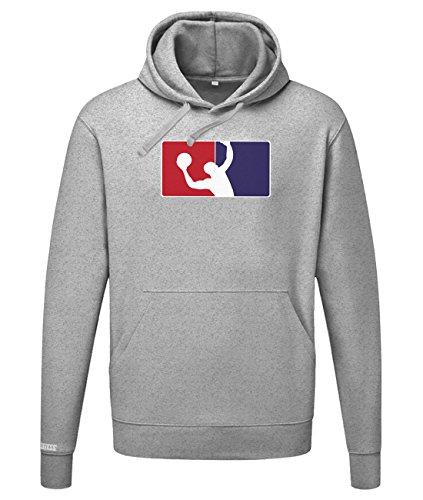 Jayess Basketball Logo - Sport Hobby - Herren Hoodie in Graumeliert by Gr. XL
