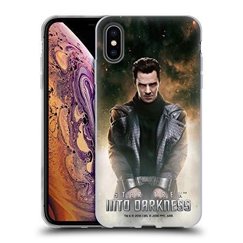 Head Case Designs sous Licence Officielle Star Trek Khan Couvertures de Magazine dans Obscurité XII Coque en Gel Doux Compatible avec Apple iPhone XS Max