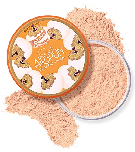 Coty Airspun Loose Face Powder 2.3 oz. Rosey Beige Tone Loose Face Powder, for Setting Makeup or Foundation, Lightweight, Long Lasting, Pink,Pack of 1