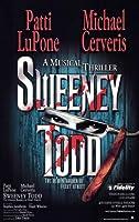 Sweeney Todd (ブロードウェイ) 11x 17ポスター–スタイルB Unframed PDPAJ9077
