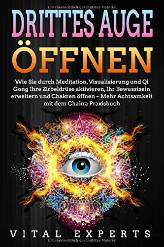 DRITTES AUGE ÖFFNEN: Wie Sie durch Meditation, Visualisierung und Qi Gong Ihre Zirbeldrüse aktivieren, Ihr Bewusstsein erweitern und Chakren öffnen - Mehr Achtsamkeit mit dem Chakra Praxisbuch