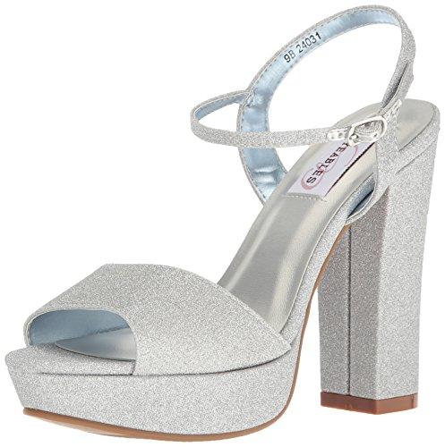 Dyeables, Inc Womens Damen Whitta, Silber, 38 EU