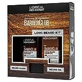 L'Oreal Men Expert Barberclub - Juego de regalo para barba, pelo y rostro