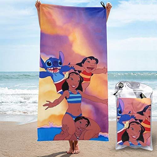 Stit-ch tv merch crashes di-s-ney Magic The Series Jumba's 625? toalla de playa toalla de viaje de Pascua absorción de agua fiesta interior al aire libre para adultos niñas y niños