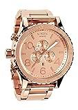 ニクソン NIXON 腕時計 メンズ 51-30 CHRONO クロノグラフ オールローズゴールド A083897 A083-897D 並行輸入品