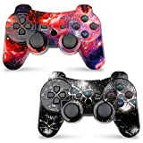 CHENGDAO Wireless Controller 2 Pack Compatible with Playstation 3 with High Performance Double...