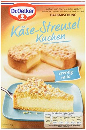Dr. Oetker Käse-Streusel Kuchen, 6er Pack (6 x 730 g)