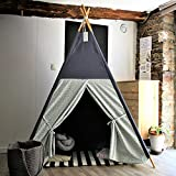 RongFa Teepee Tent for Kids-Portable Children Play Tent Indoor Outdoor (Nordic Style)