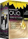 Garnier Olia coloración permanente sin amoniaco para un olor agradable con aceites florales de origen natural - Rubio Muy Claro Dorado 9.3